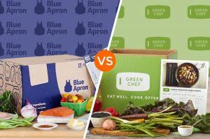 Blue Apron vs Green Chef