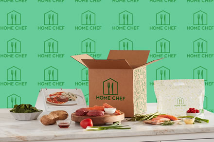Home Chef meal delivery kit