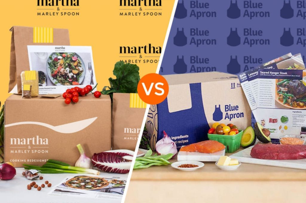 Marley Spoon vs Blue Apron