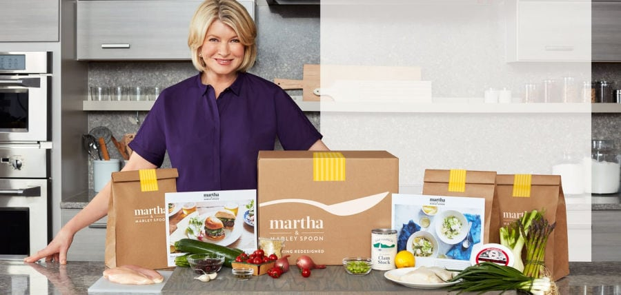 Martha & Marley Spoon Meal Delivery