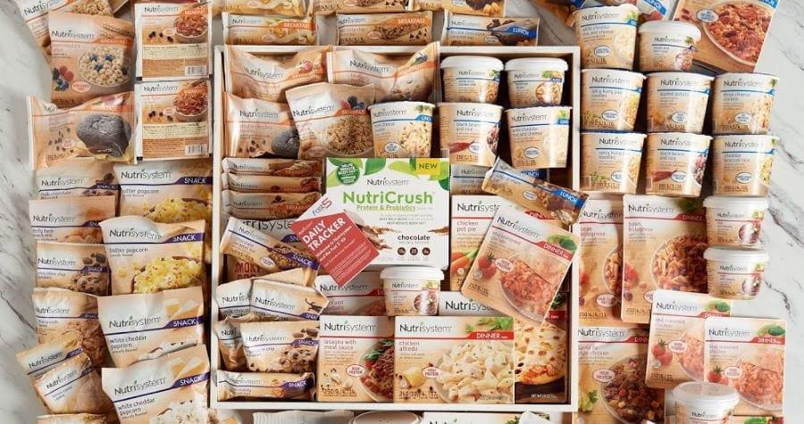 Nutrisystem meal delivery