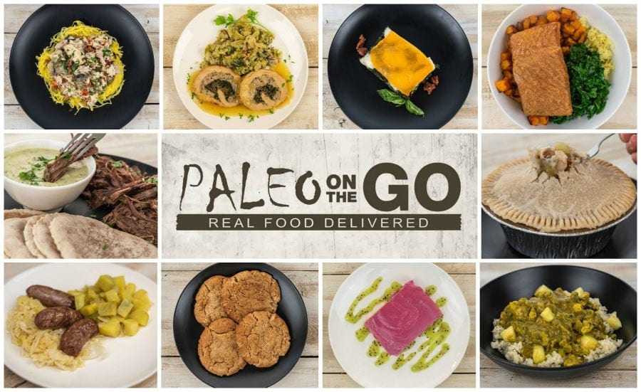 Paleo On The Go Meal Delivery
