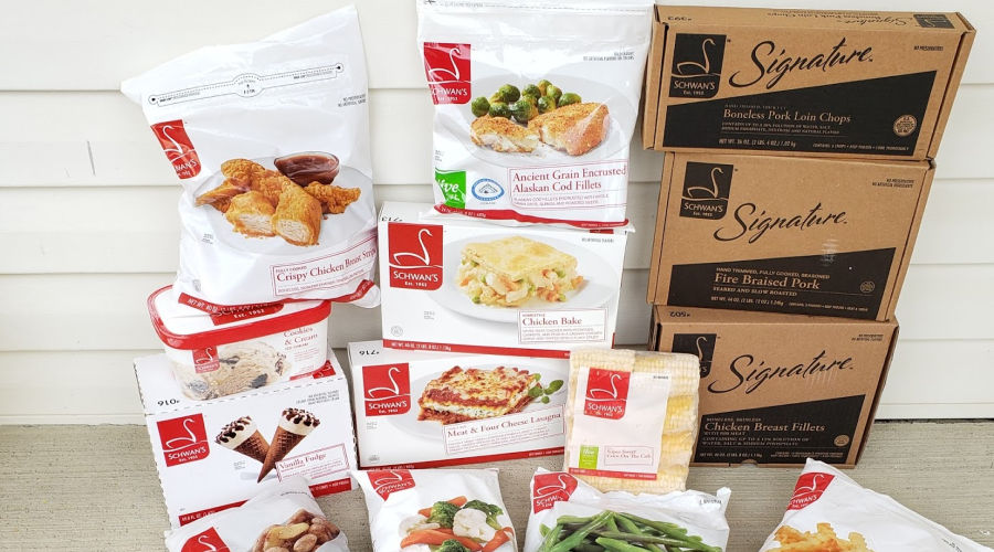 Schwan's meal delivery
