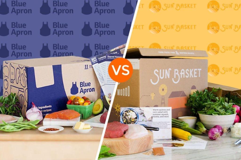 Blue Apron vs Sun Basket