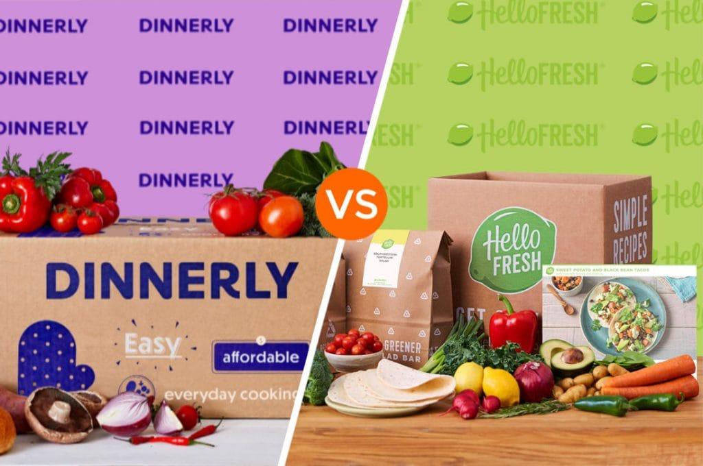 Dinnerly vs Hello Fresh