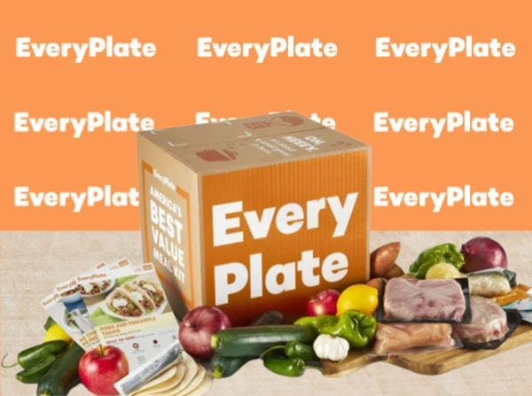 Everyplate Box Image with Logo