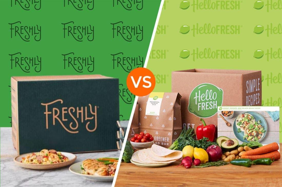 Freshly vs Hello Fresh
