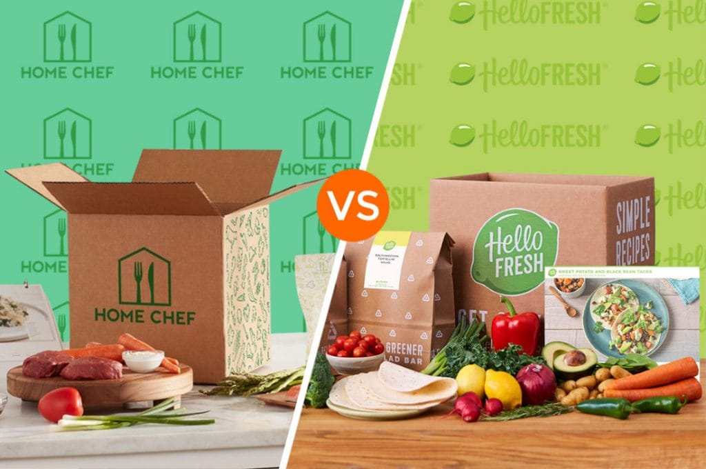 Home Chef vs Hello Fresh