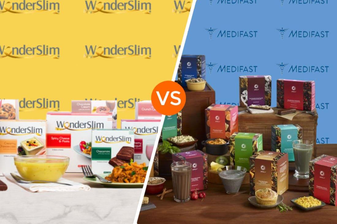 Wonderslim vs Medifast