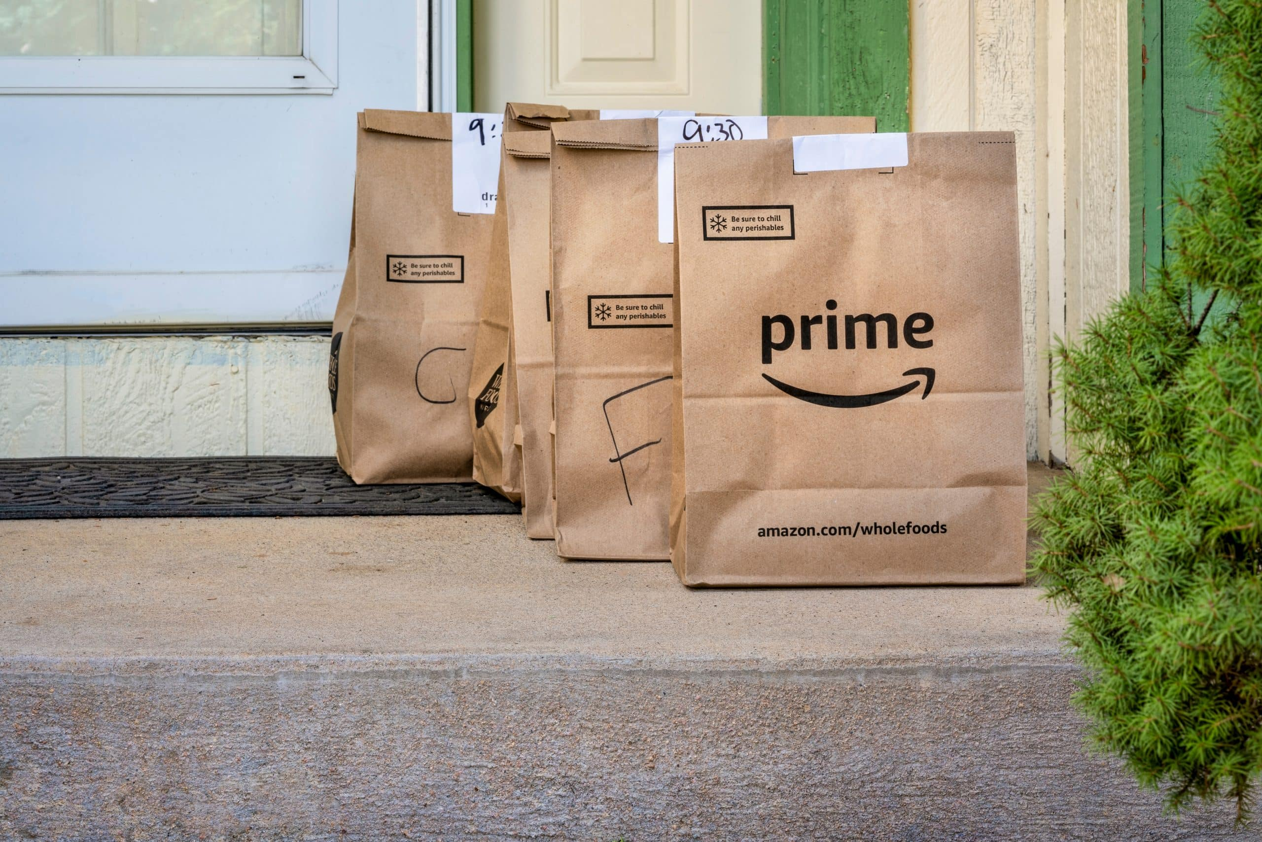 Amazon Fresh meal delivery