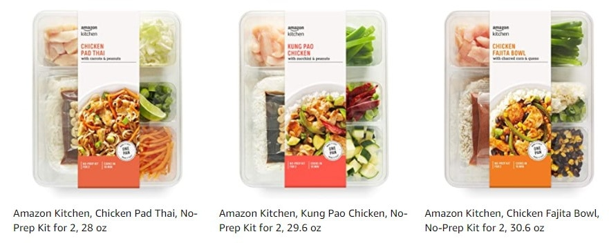Amazon Fresh Meal Kits