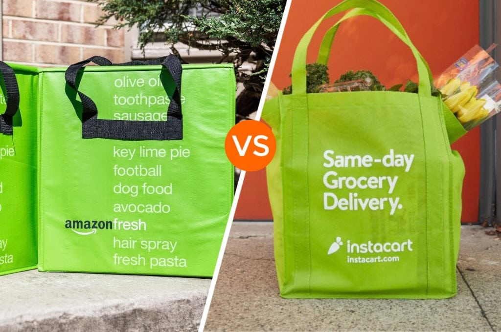 Amazon Fresh Versus Instacart