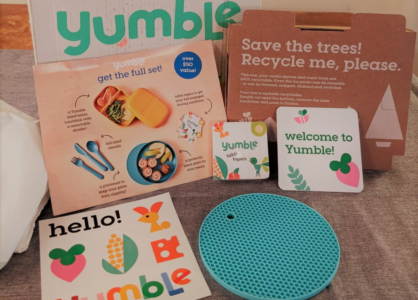 Yumble packaging