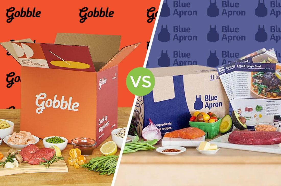 Gobble vs Blue Apron