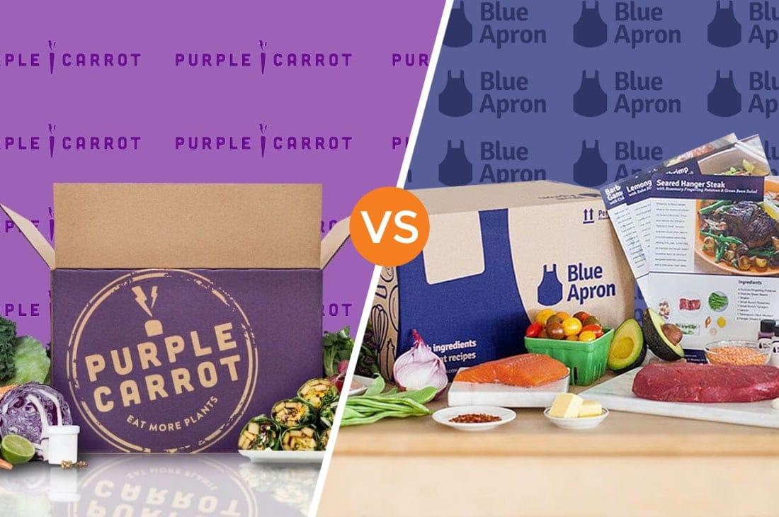 Purple Carrot vs Blue Apron
