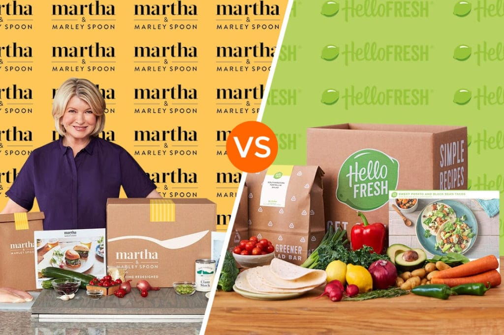 Marley Spoon vs Hello Fresh