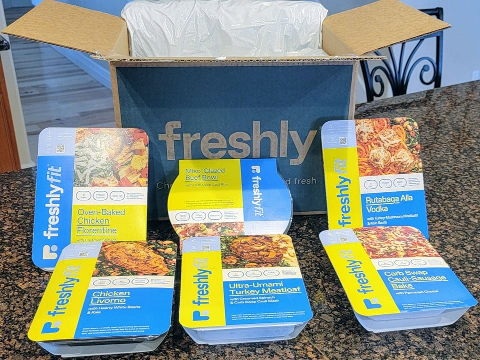 FreshlyFit meal delivery
