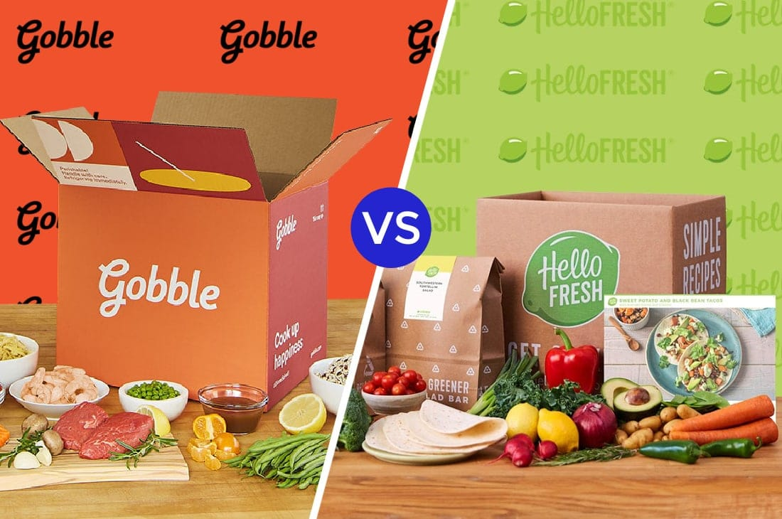 Gobble vs Hello Fresh
