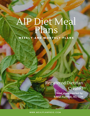 AIP Diet Cover Page