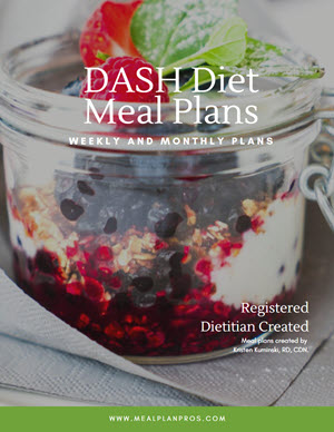 Dash Diet Cover Page
