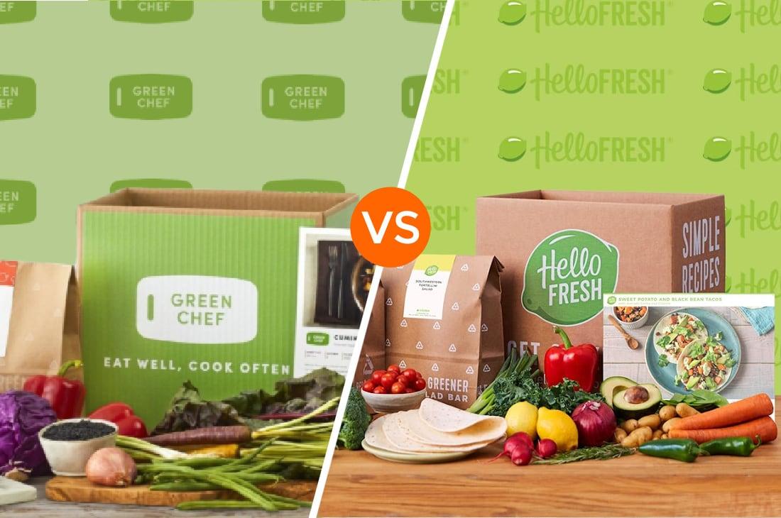 Green Chef Vs Hello Fresh