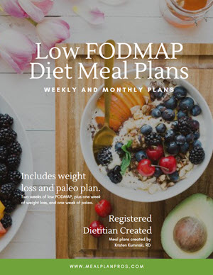 Low Fodmap Cover Page