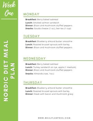 Nordic Diet Week