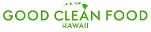 Good Clean Food Hawaii Logo