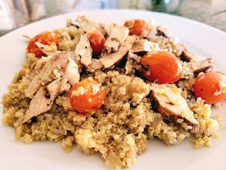 Modify Health Mediterranean Balsamic Chicken meal