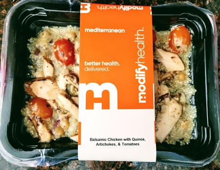 Modify Health Mediterranean Balsamic Chicken