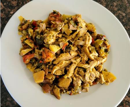 Modify Health Mediterranean Chili Lime Chicken meal