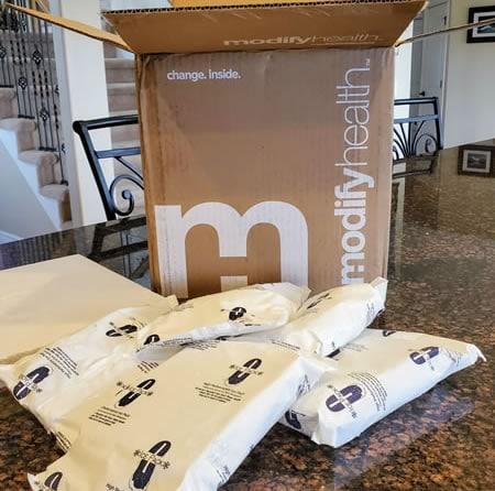 Modify Health packaging
