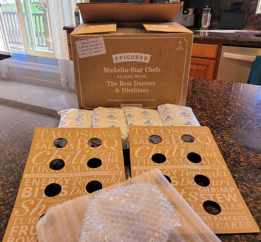 epicured packaging